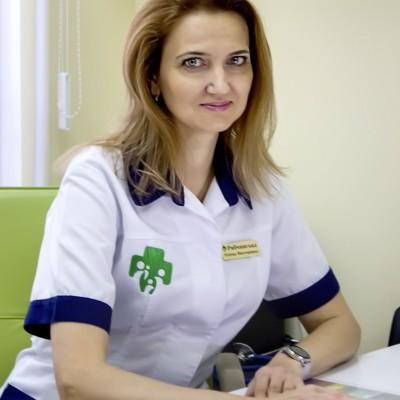 Рябчинська Олена Вікторівна - Сімейний лікар