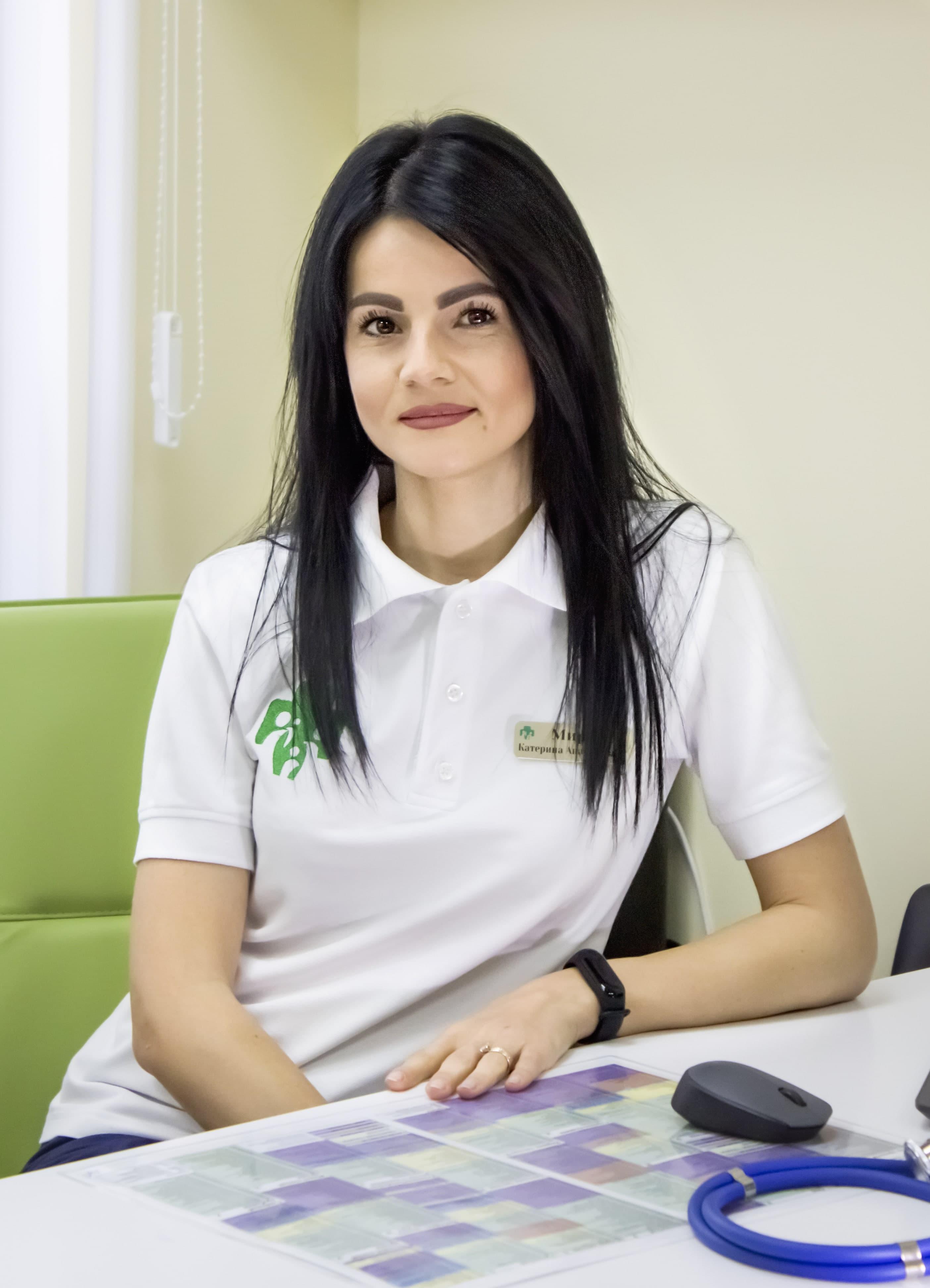 Мирная Екатерина Анатольевна - врач педиатр